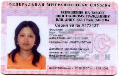 бланк заявления на патент на работу для иностранных граждан с 2015 года - фото 7
